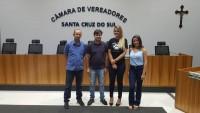 Visita a Câmara de Vereadores de Santa Cruz do Sul,